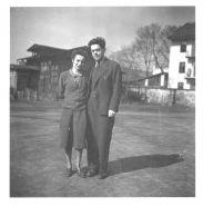 Manželé Edita a Arnošt Geradovi